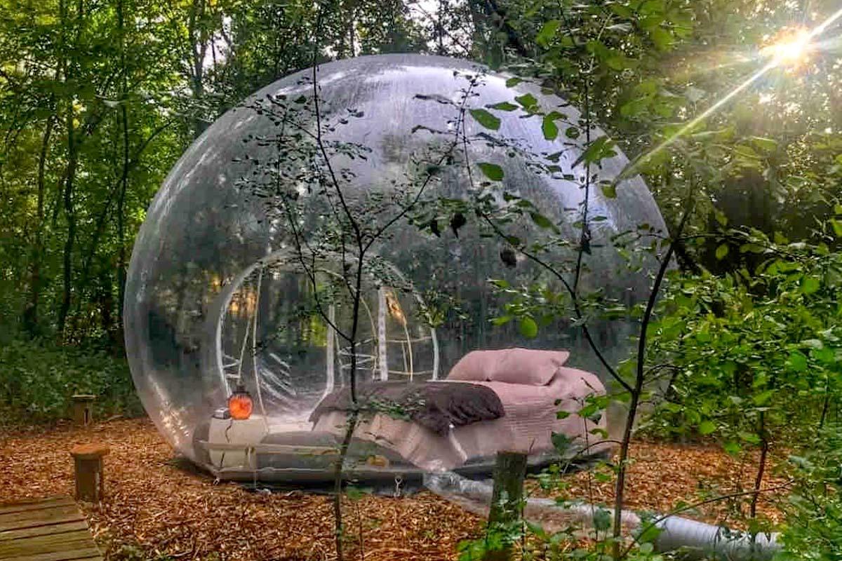 Stargazing Bubble in Minnesota, USA