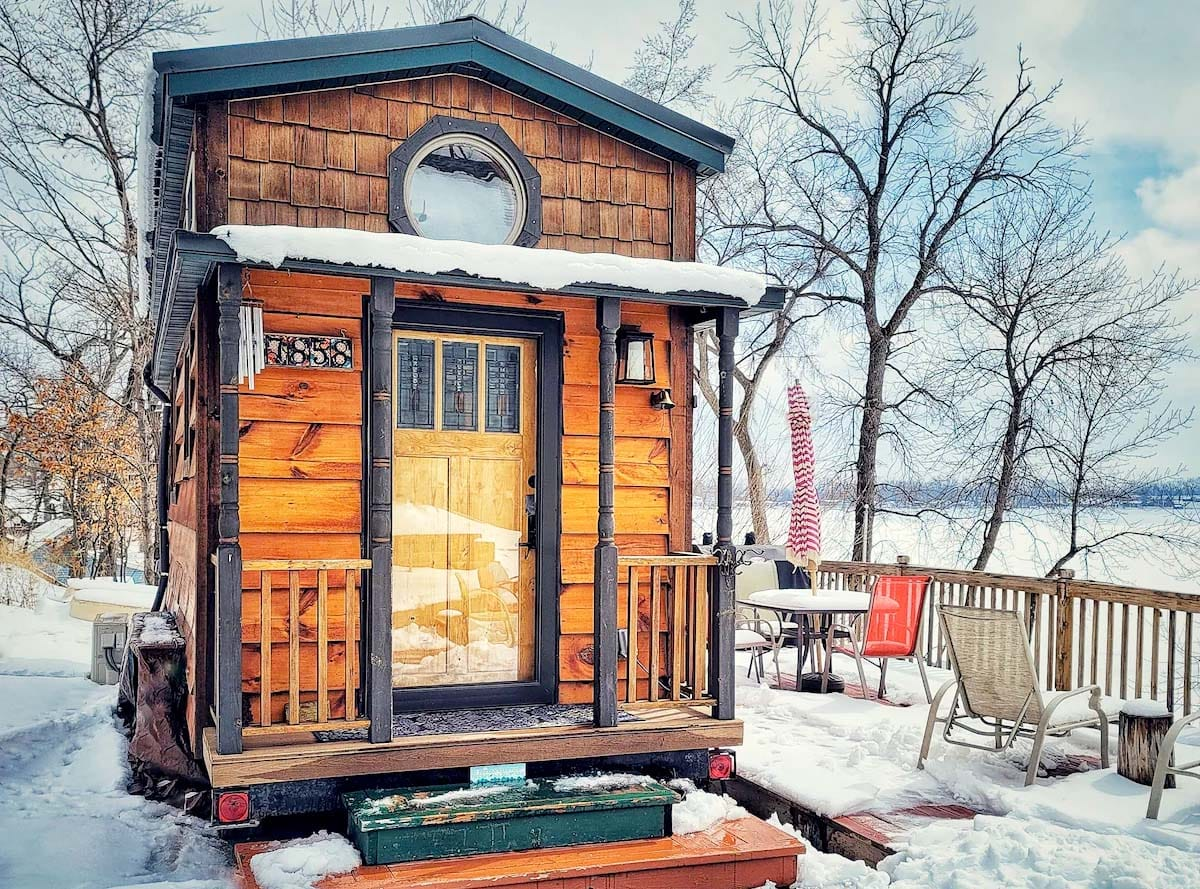 Tiny house Airbnb in Minnesota, USA