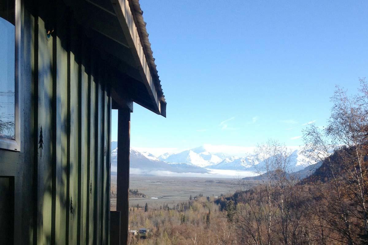 The Johnson House Cabin in Alaska, USA