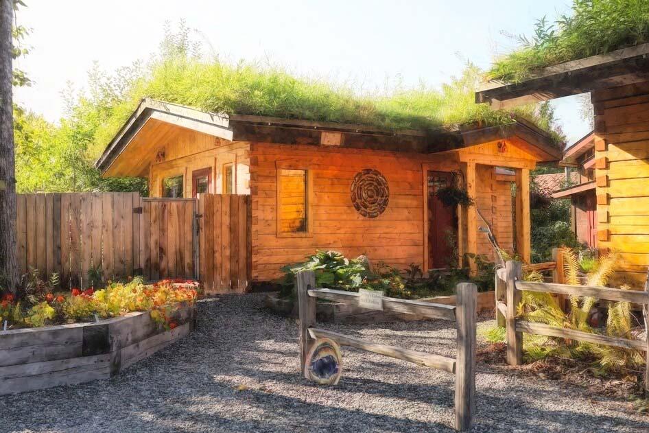 Log Cabin Rental in Alaska, USA