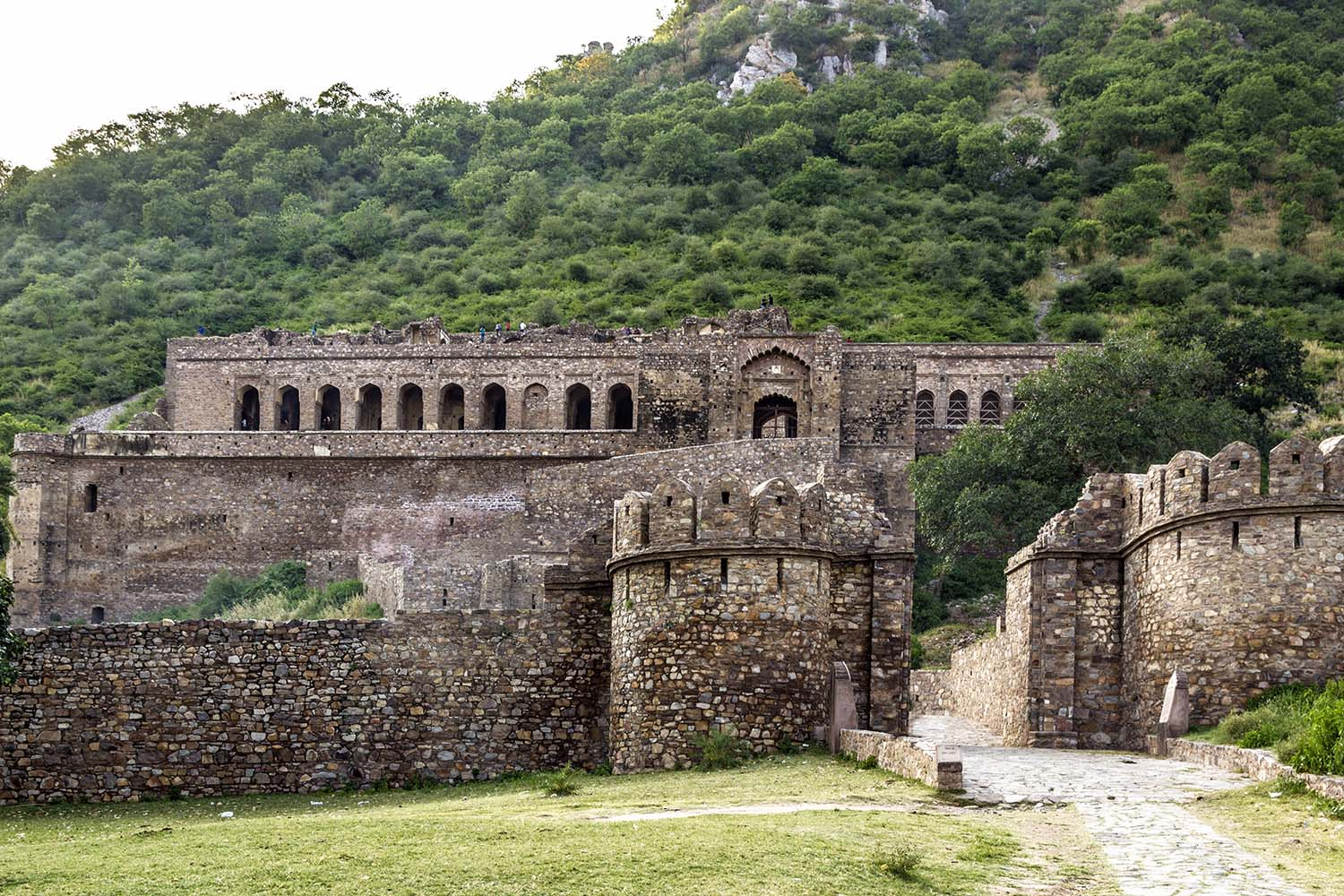 old Bhangarh Fort in India