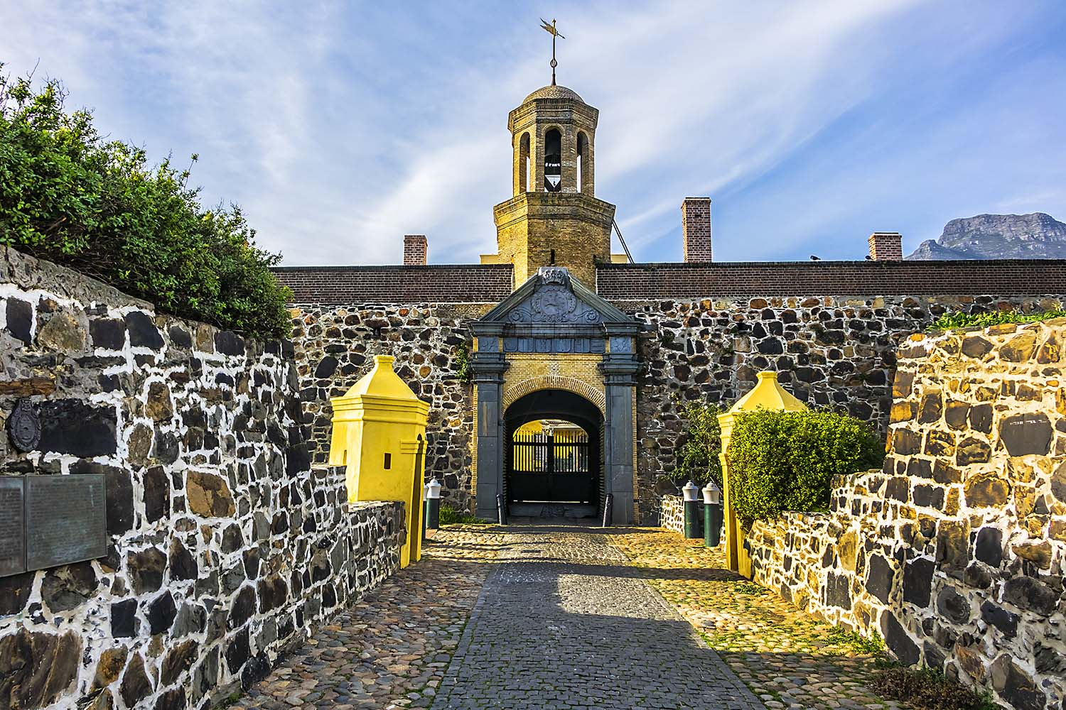Entrance to the Castle of Good Hope or Cape Town Castle