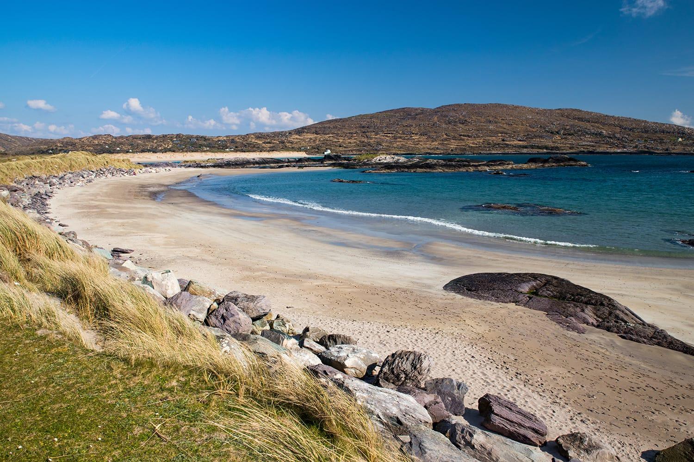 Scenic Derrynane Beach on the wild Atlantic way, County Kerry, Ireland
