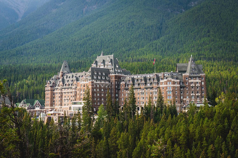 Fairmont Banff Springs Hotel in Canada
