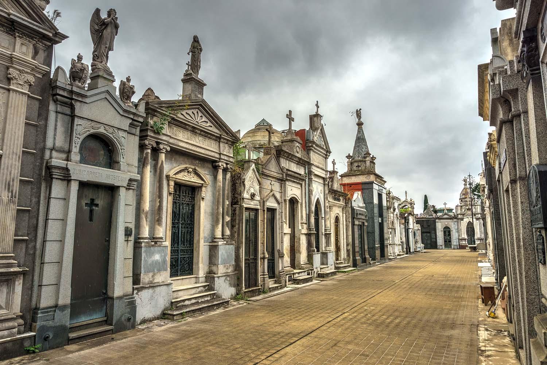 La Recoleta Cemetery (Spanish: Cementerio de la Recoleta), a cemetery located in the Recoleta neighbourhood of Buenos Aires, Argentina.