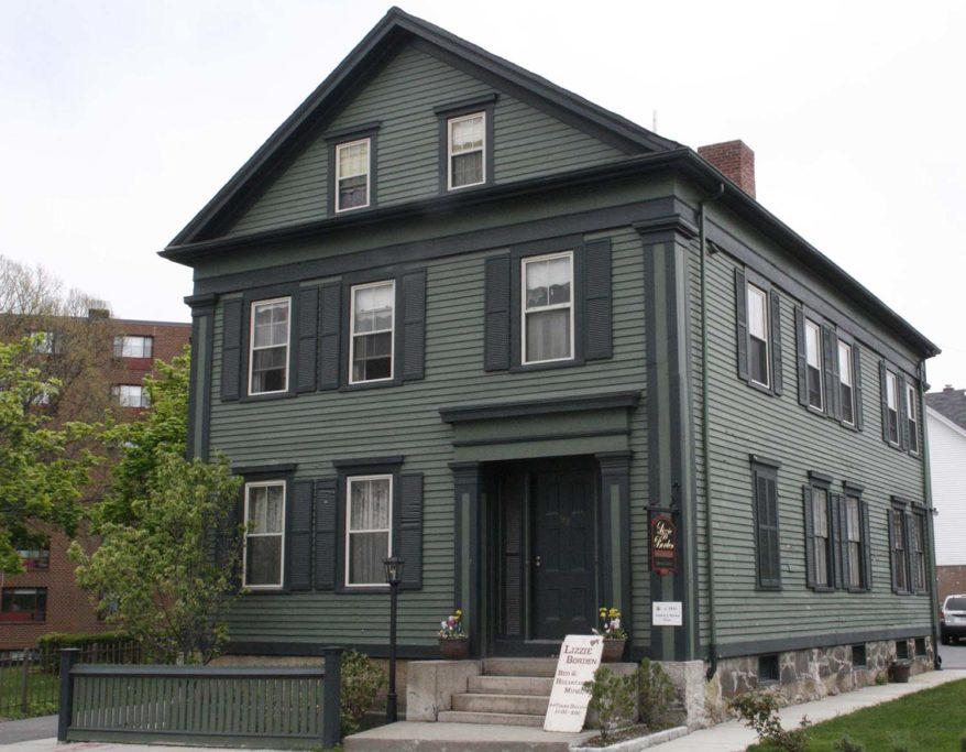 Lizzie Borden House in Massachusetts, USA