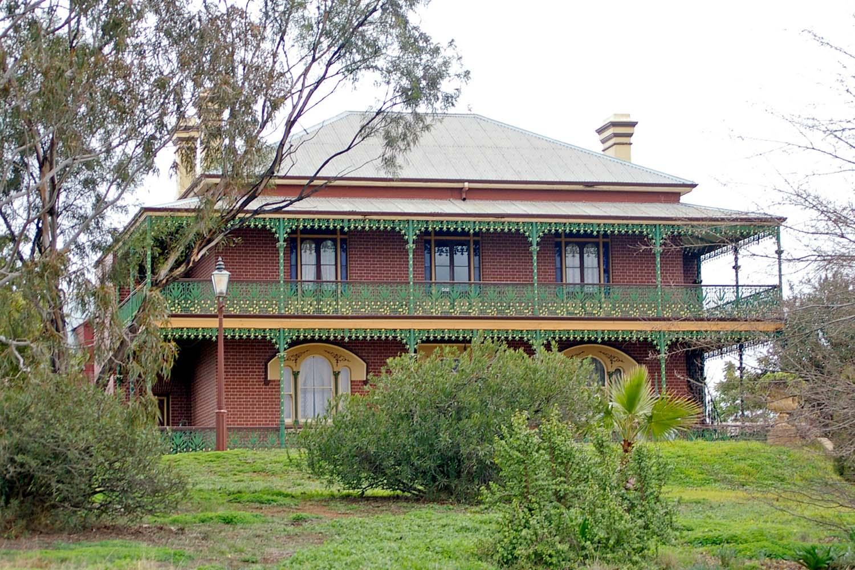 Monte Cristo Homestead in Australia