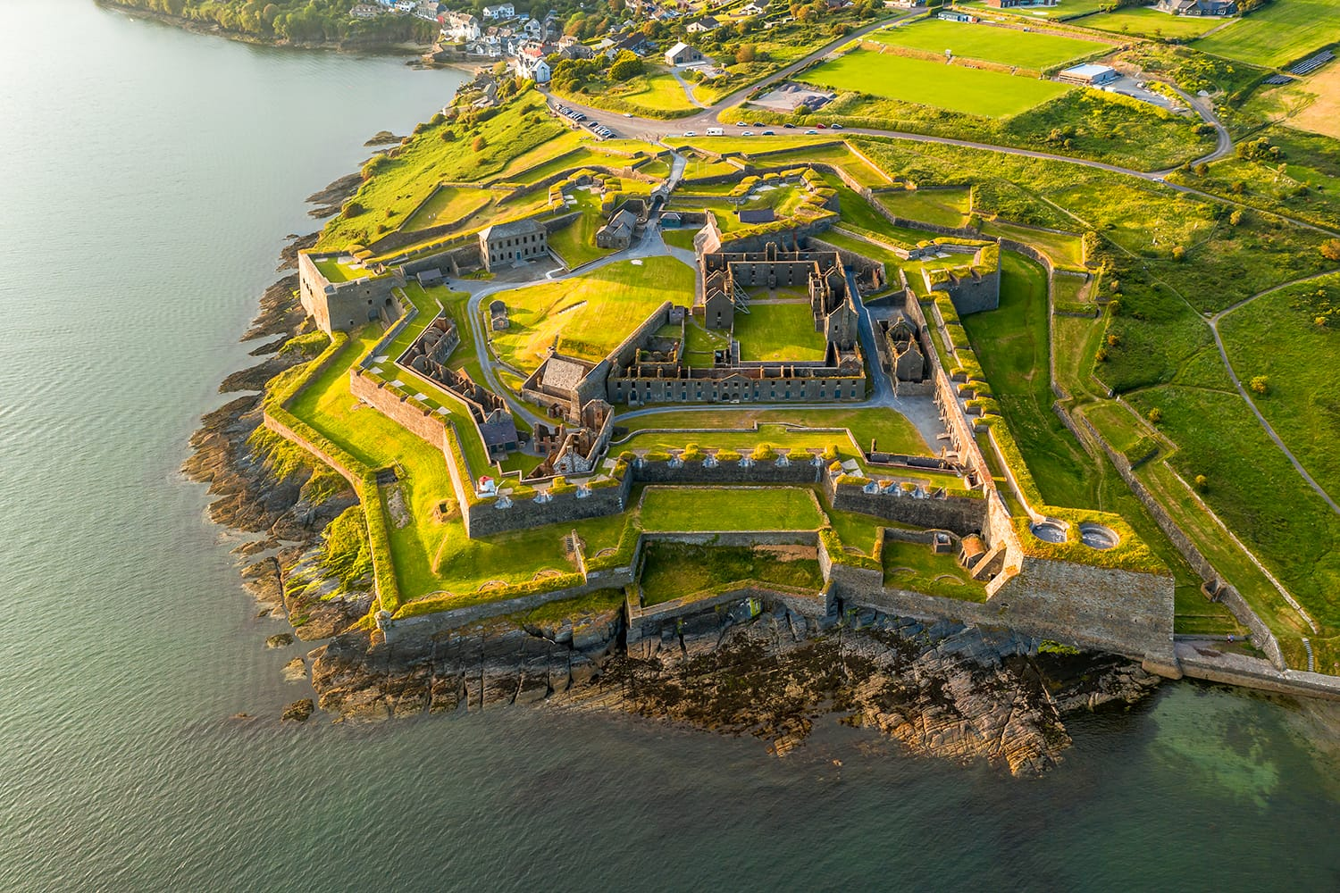 St. Charles Fort in Kinsale, County Cork, Ireland