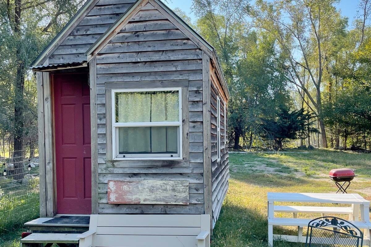 Tiny House in Nebraska, USA