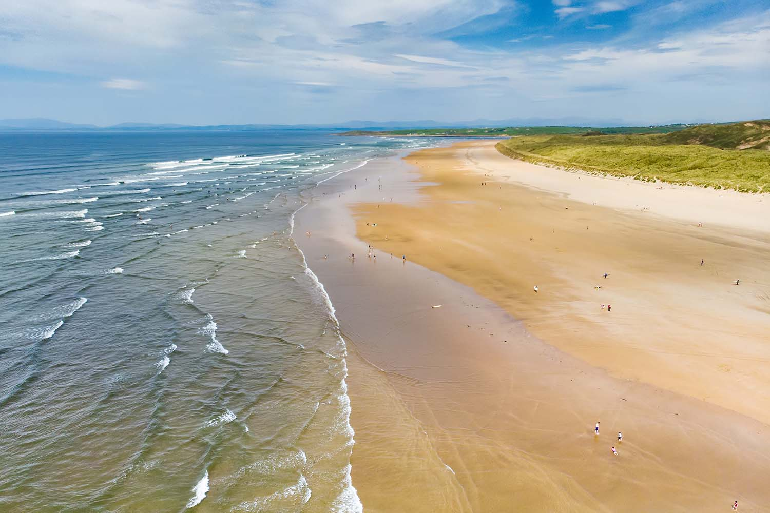 Spectacular Tullan Strand, in County Donegal, Ireland.